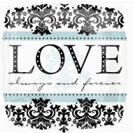 Foil Balloon - Love Always and Forever - 18""