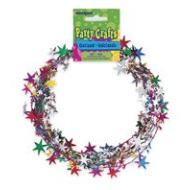 Garland-Multi Color Star-20ft