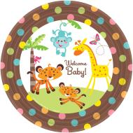 Plates-DN-Fisher Price-8pk-Paper