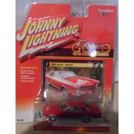 Johnny Lightning 1965 Buick Riviera Red Classic Gold 2016 Series 1:64 Scale Diecast Model Car