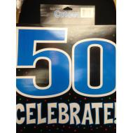Cutout-50th Celebration-15''x15''