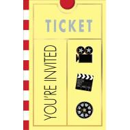 Invitations-Hollywood-Lights! Camera! Action!-8pk
