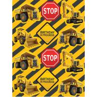 Stickers-Construction Zone-4 Sheets