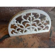 Iron Ornate White Door Stop
