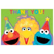 Thank You Cards-Sesame St-20pk