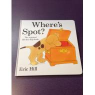 """Where's Spot?"" Hardcover Book"