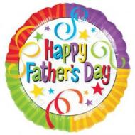 Foil Balloon - Happy Father's Day Streamers - 18""