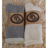 Mohair Sock, Therapeutic Grey, Men's S