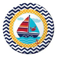 Plates-Ahoy Mate-8pk-Paper - Discontinued