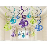 Danglers-Swirl-40th Bday-Foil-30pk