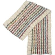 Fraas Space Dye Stripe Knit Scarf