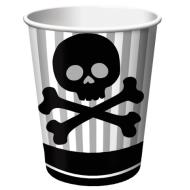 Paper Cups-Pirate Party-8pkg-9oz