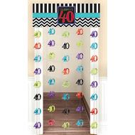 Doorway Curtain - 40th Birthday-77''