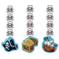 Hanging Cutouts-Pirate Party-3pkg-36""
