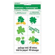 Tattoos-St Pats-48pk