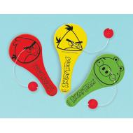 Favor Paddle Ball-Angry Birds-12pk (Discontinued)