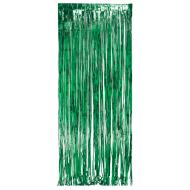 Door Fringe-Foil-Green-1pkg