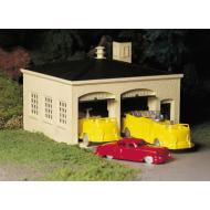 45610 Fire House with Vehicles, Bachmann Plasticville