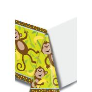 Tablecover-Rectangle-Monkeyin Around-Plastic