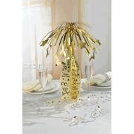 Centerpiece-Champagne bottle-Foil-19''
