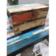Teak Money Box