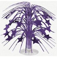 Centerpiece-Cascade-Purple Stars-8.5''