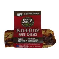 "Earth Animal No-Hide Beef Chews 4"" 2 pack"