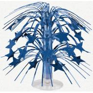 Centerpiece-Cascade-Blue Star-Foil-8.5''