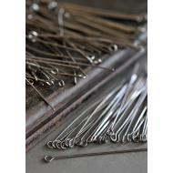 Gunmetal Eye Pins - 100/pk