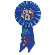 Award Ribbon-Dad To Be-1pkg-6.5""
