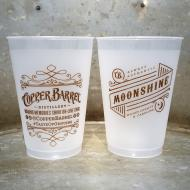 Copper Barrel Flex Cup [Frosted] 12 oz