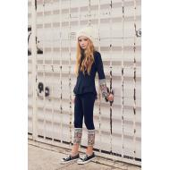 Laney Leggings in Navy