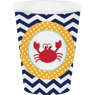 Paper Cups-Ahoy Matey-8pkg- - Discontinued