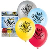 Latex Balloons-Batman-8pkg-12""