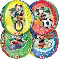 "Foil Balloon Orbz - Mickey Mouse - 15""x16"""