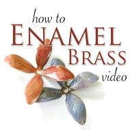 How to Enamel Brass Video