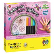 Color In Glitter Tattoos