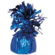 "Balloon Weight-Foil-Royal Blue-1pkg-4.5""x2.25"""