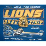 Lions Run What You Brung T-Shirt - Blue