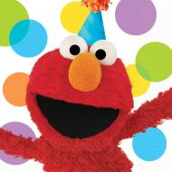 Napkins LN - Elmo -16Pk - 2Ply - Discontinued