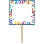 Paper Crepe Personalized Yard SIgn-Party Streamer-14'' x 25''