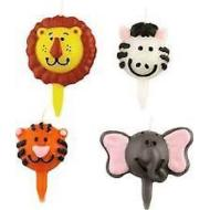 Candle-Jungle Pals-4pkg-2""