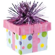 Balloon Weight-Gift Package-Pink-6oz