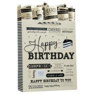 Birthday Expressions Tote Bag-Large
