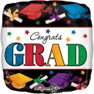Foil Balloon - Congrats Grad, Dare to Dream - 18""