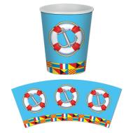 Paper Cups-Nautical-8pkg-9oz