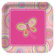 Plates-LN-Mod Butterfly-8pkg-Paper - Discontinued