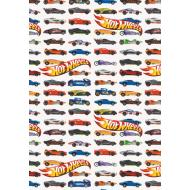 "Gift Wrap-Hot Wheels-1pkg-30""x5ft"