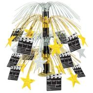 Centerpiece-Metallic Cascade-Movie Set Clapboard-1pkg-18""