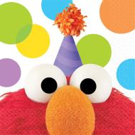 Napkins Bev - Elmo - 16Pk - 2 Ply - Discontinued